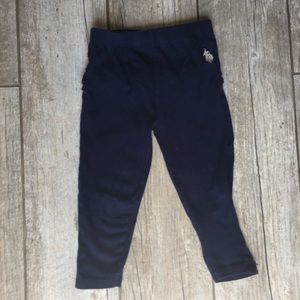U.S. Polo Assn. - Navy Pants 2T (Little Girls)